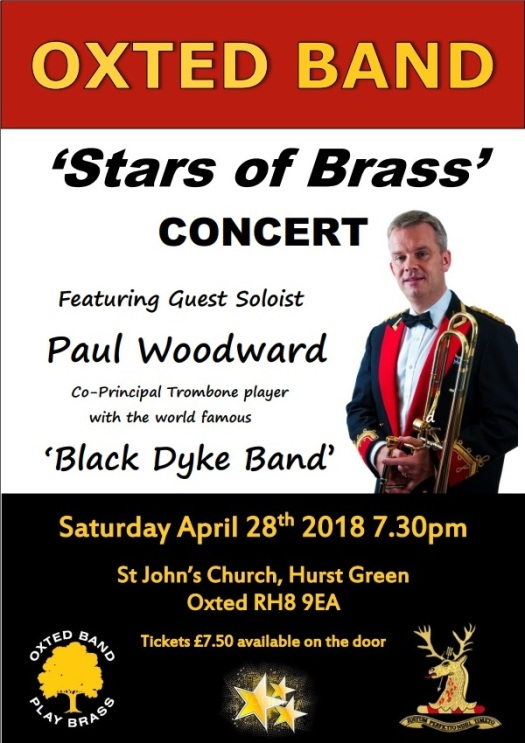 Oxted Band - Paul Woodward