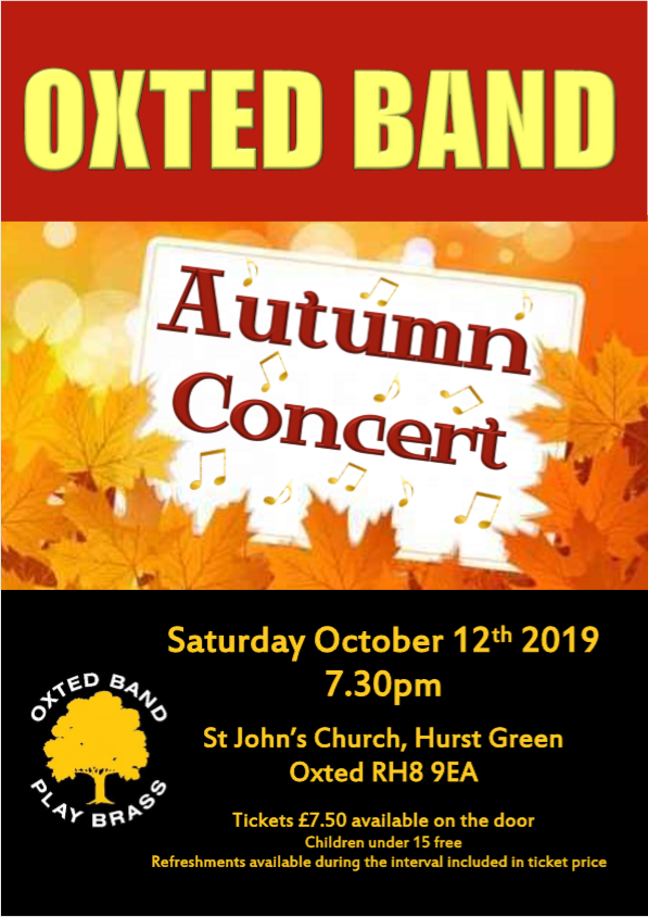 Oxted Band - Autumn Concert